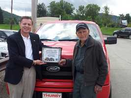 Floyd Pullin, of Addison, Somerset County, has only owned Ford vehicles his whole life, dating back to the 1920s.