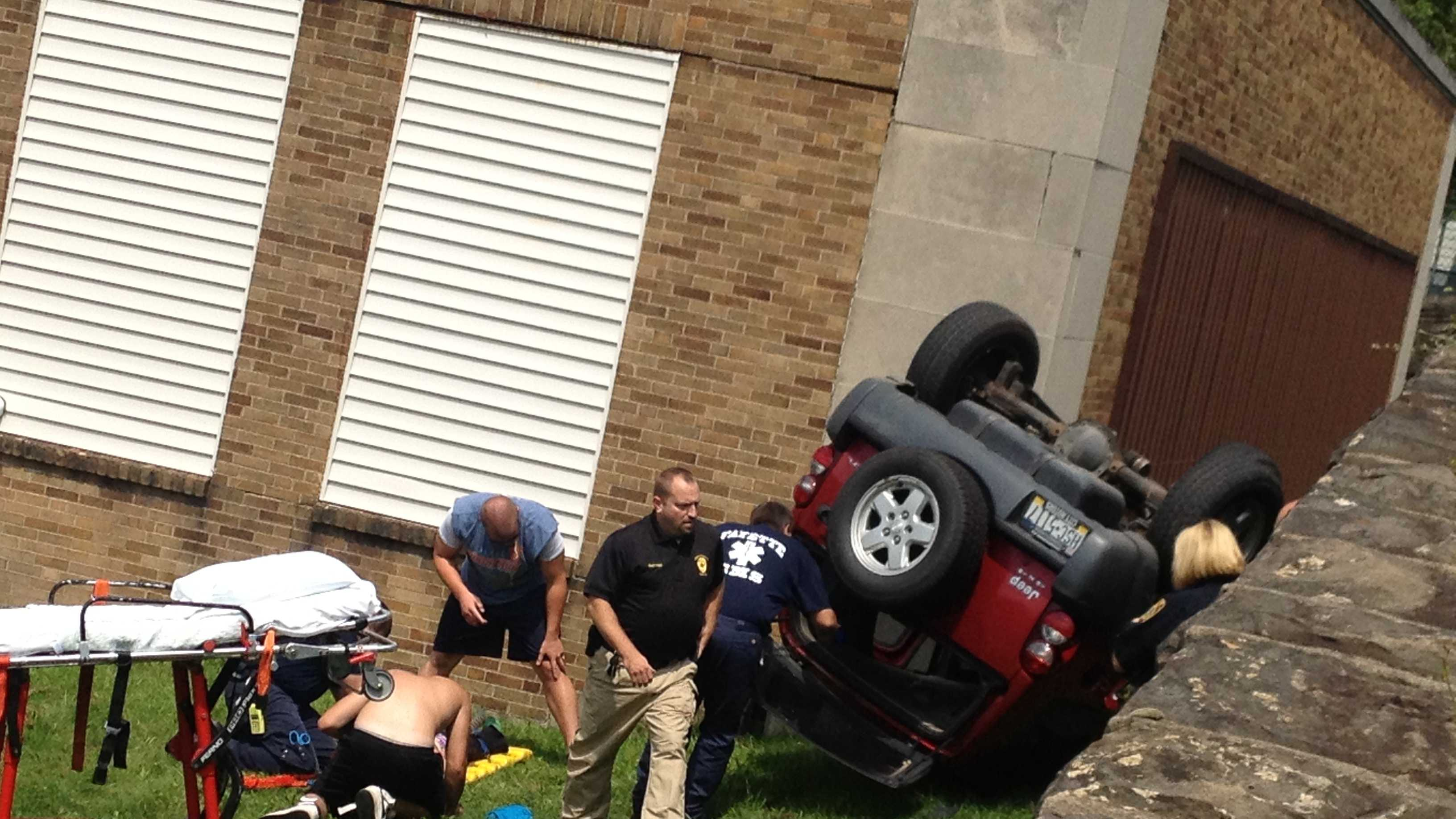 img-flipped SUV in Uniontown