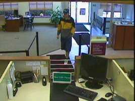 Latrobe police said one man went into the bank on Ligonier Street to get the money at about 11 a.m. and another man drove the getaway car.