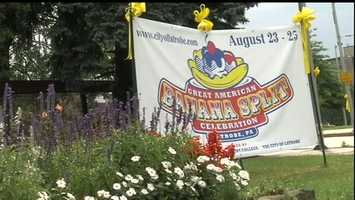 It's being dubbed the Great American Banana Split Celebration. All of the details are posted on the Laurel Highlands Visitors Bureau website.
