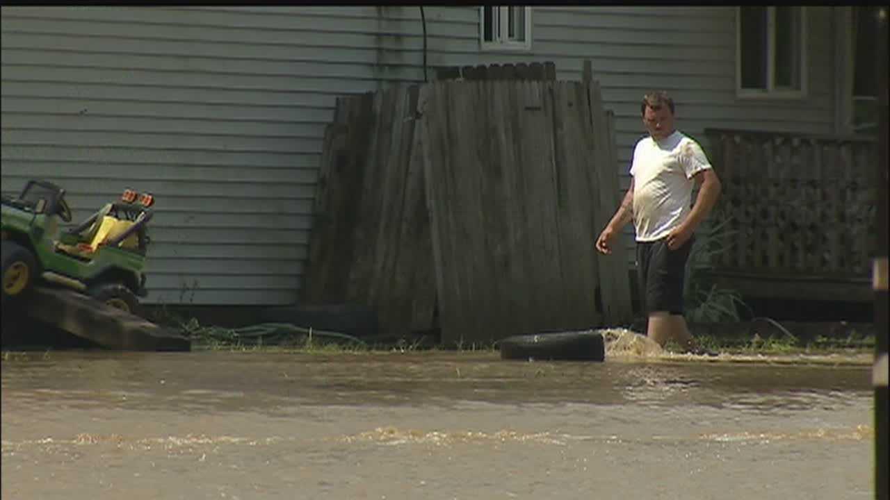 California Borough flooding
