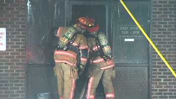 The Allegheny County fire marshal was still investigating the cause late Monday morning. Around 100 firefighters from six different fire companies responded to the call.