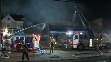 """""""We could hear some explosions fighting the fire, some things that blew up. Nobody was in the building. It was pretty much an exterior operation,"""" said Coraoplis Volunteer Fire Department Chief Larry Byrge."""