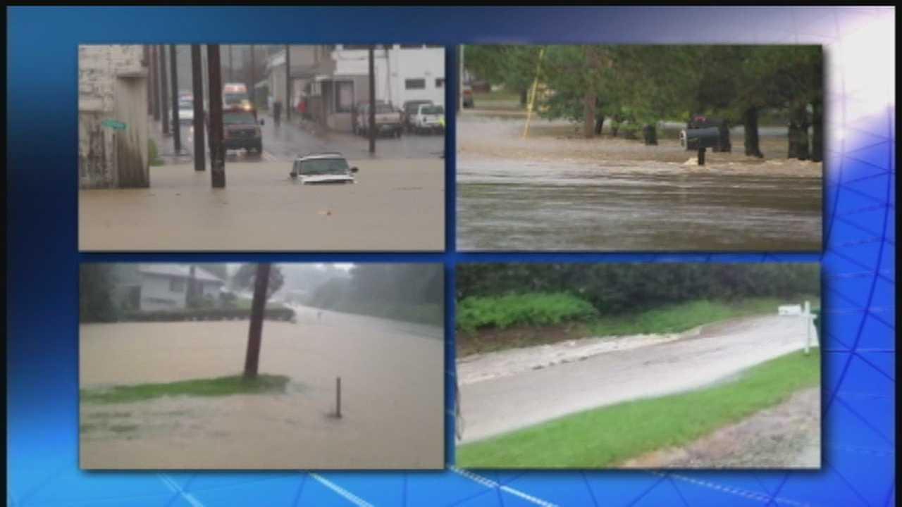 Heavy rainfall brings severe flooding east of Pittsburgh