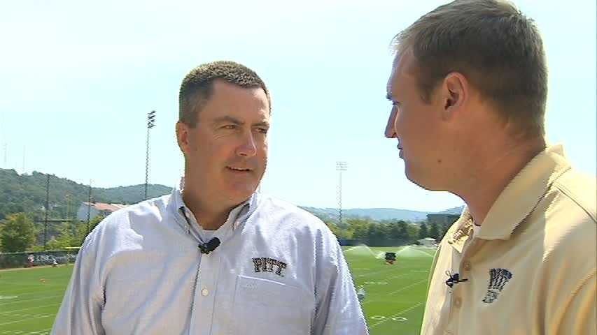 Paul Chryst and Pat Bostick