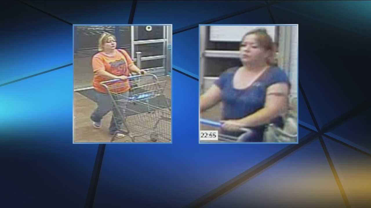 img-Woman being questioned in Walmart thefts