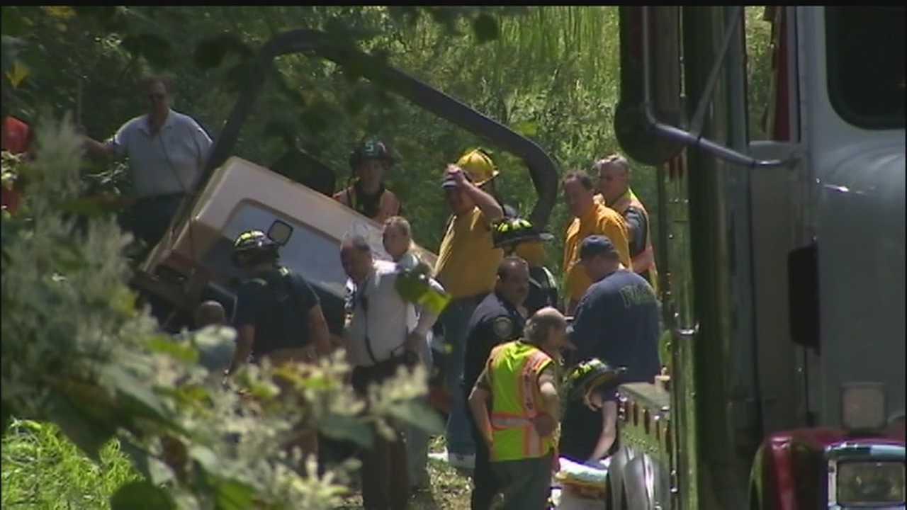 img-Operator trying to avoid crash gets pinned under asphalt roller in Monroeville