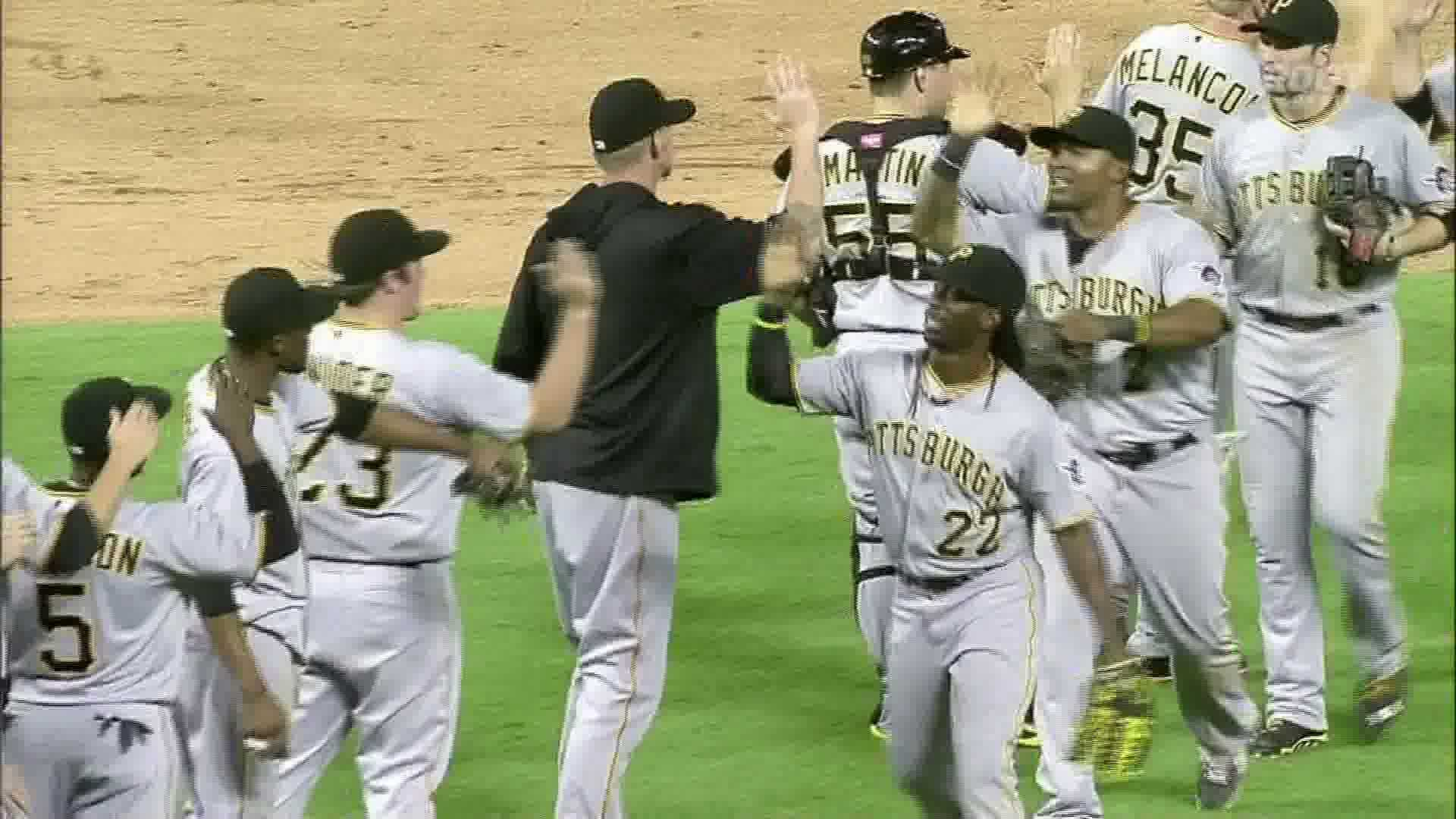 Pirates win