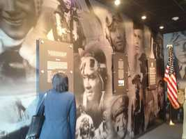 More than seven decades after their service to their country, members of the Tuskegee Airmen are being honored in a Recognition Exhibit at Pittsburgh International Airport.