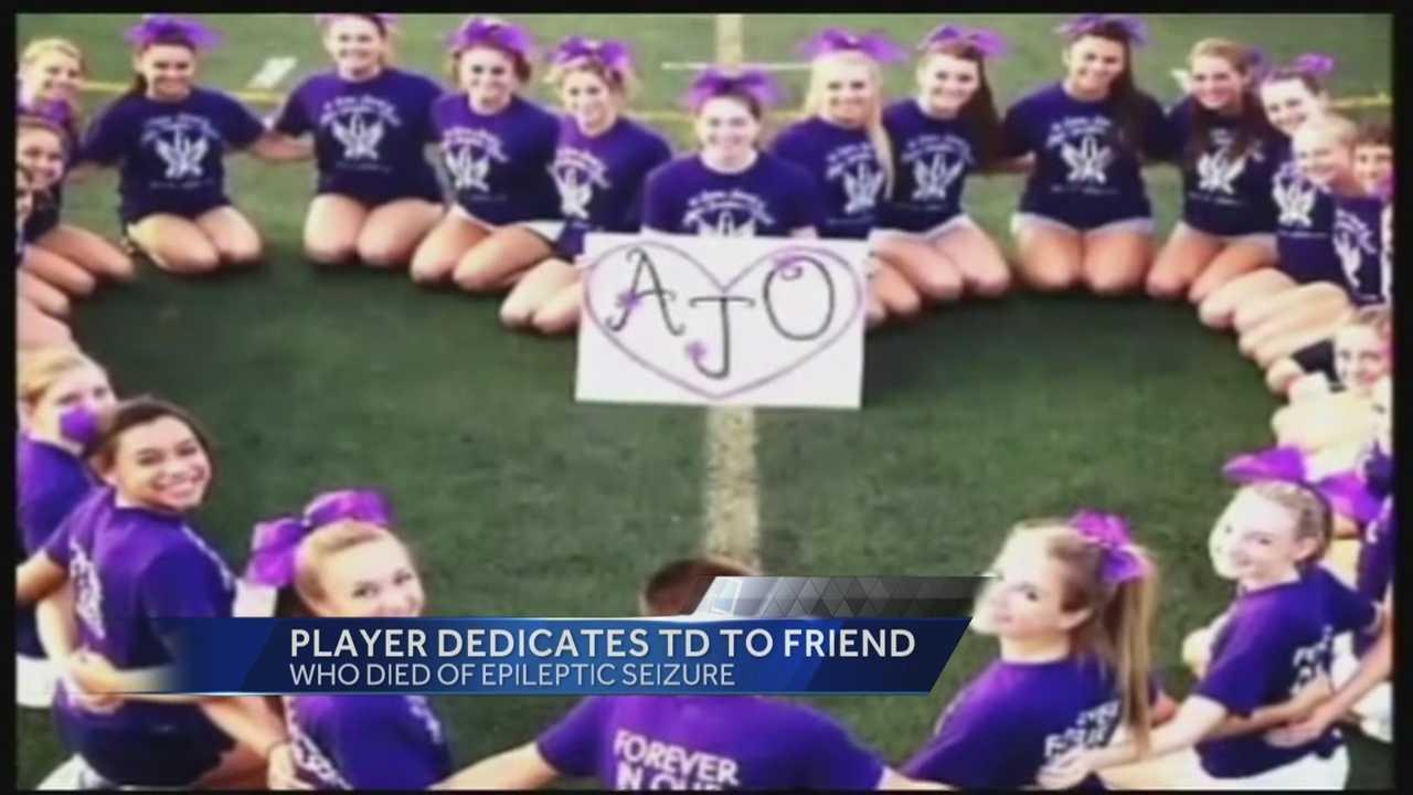 Pitt RB dedicates 1st TD to AJO
