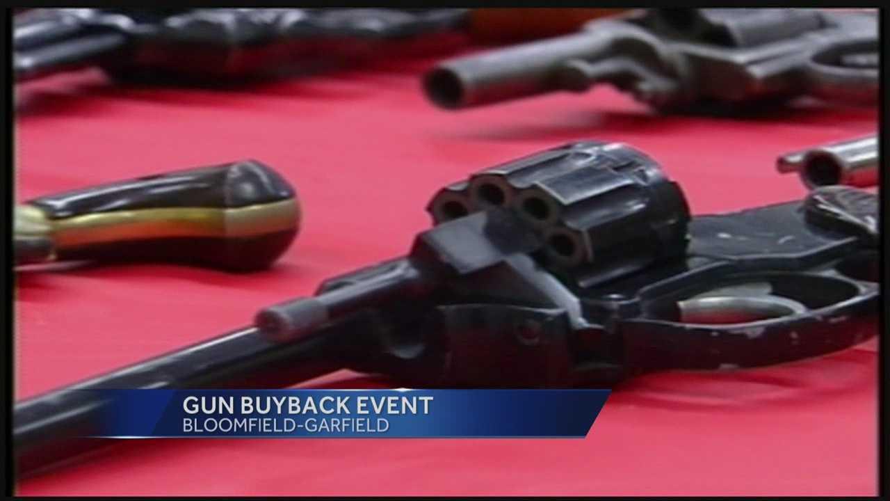 Gun buyback aims to curb violence
