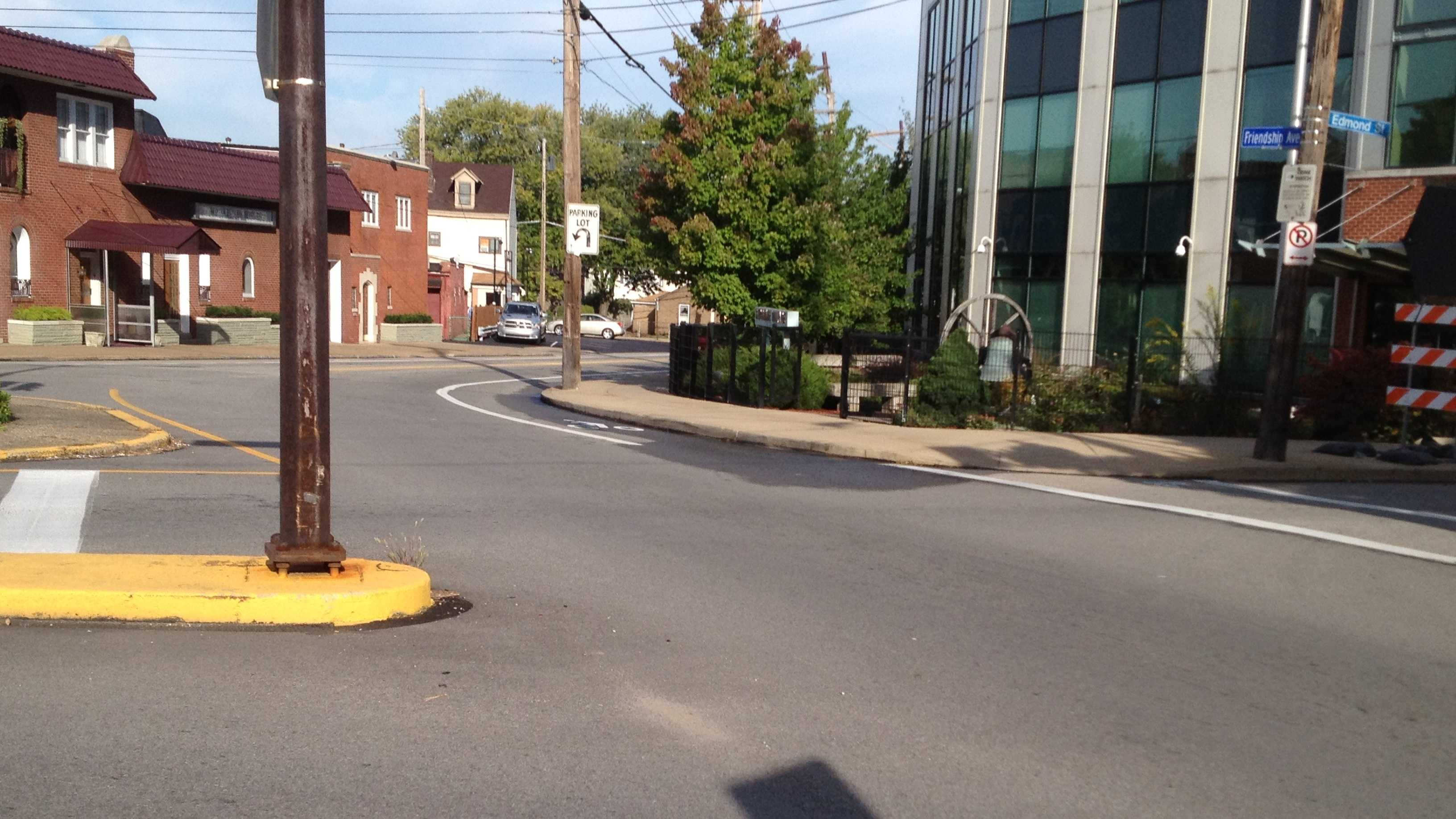 Bloomfield accident scene