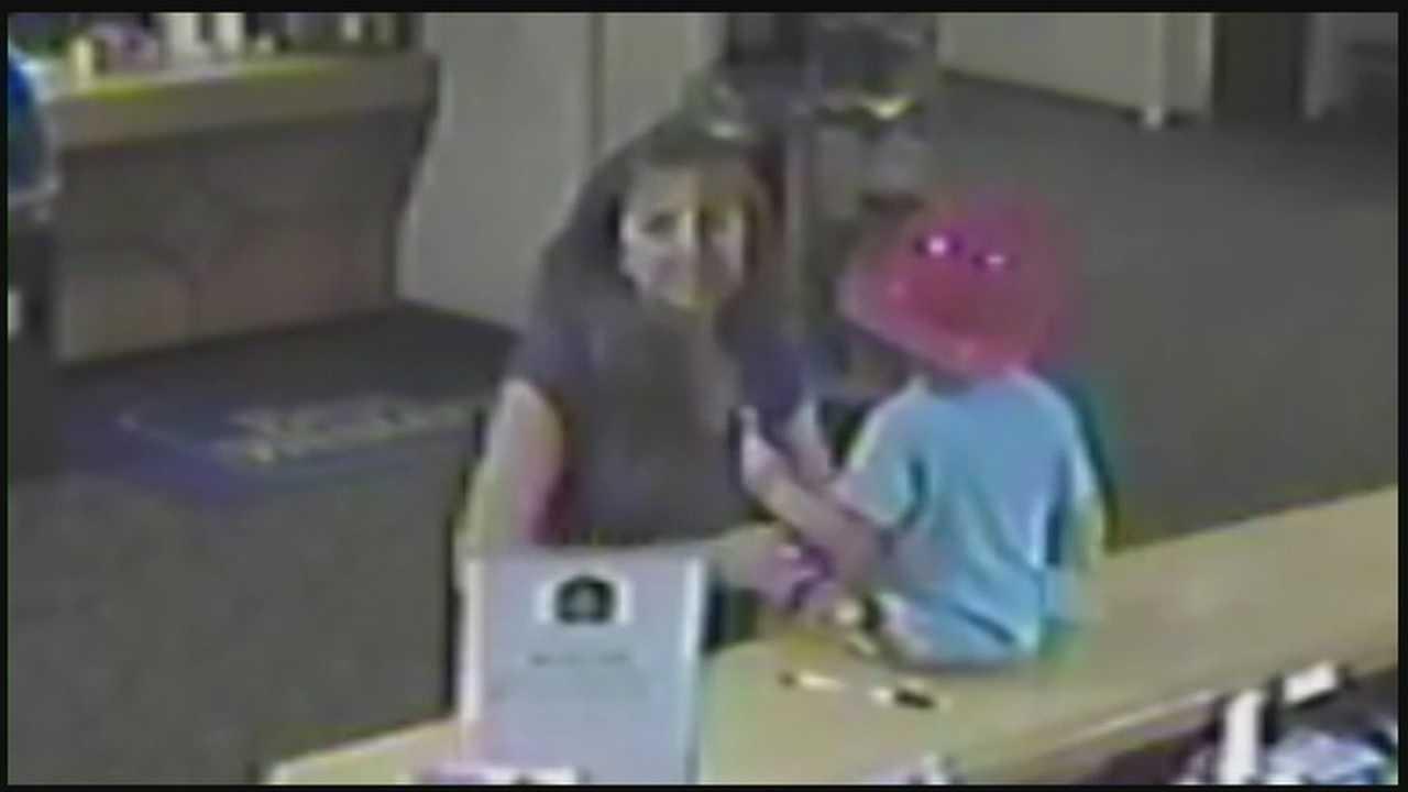 img-Sharon Flanagan with son at counter