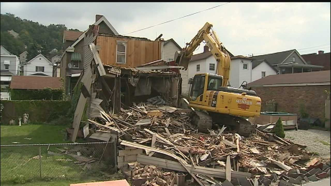 Wirbicki home demolished