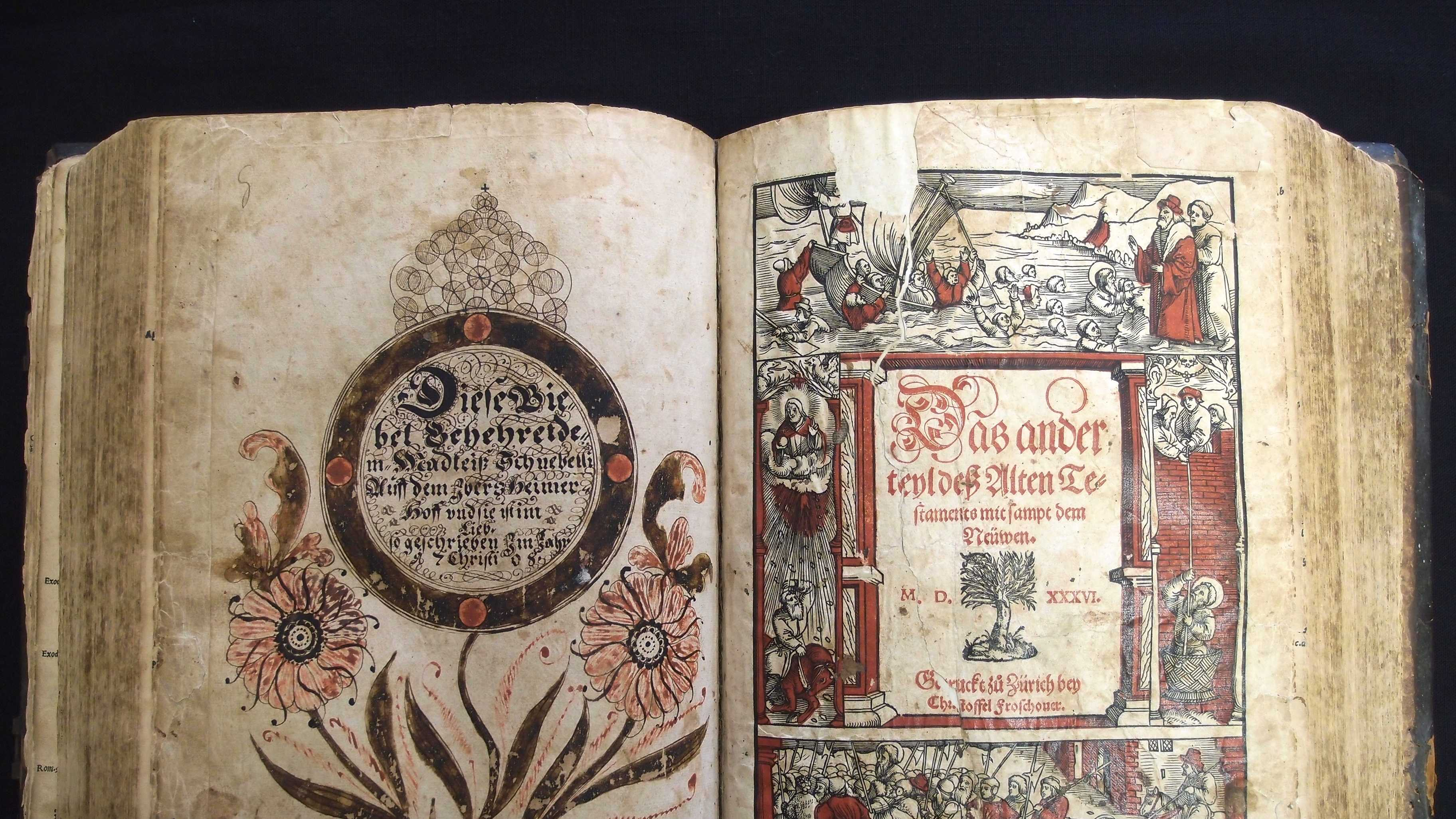 16th-Century Family Bible