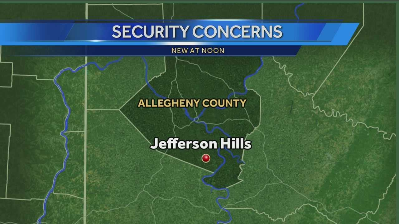 Jefferson Hills security - map