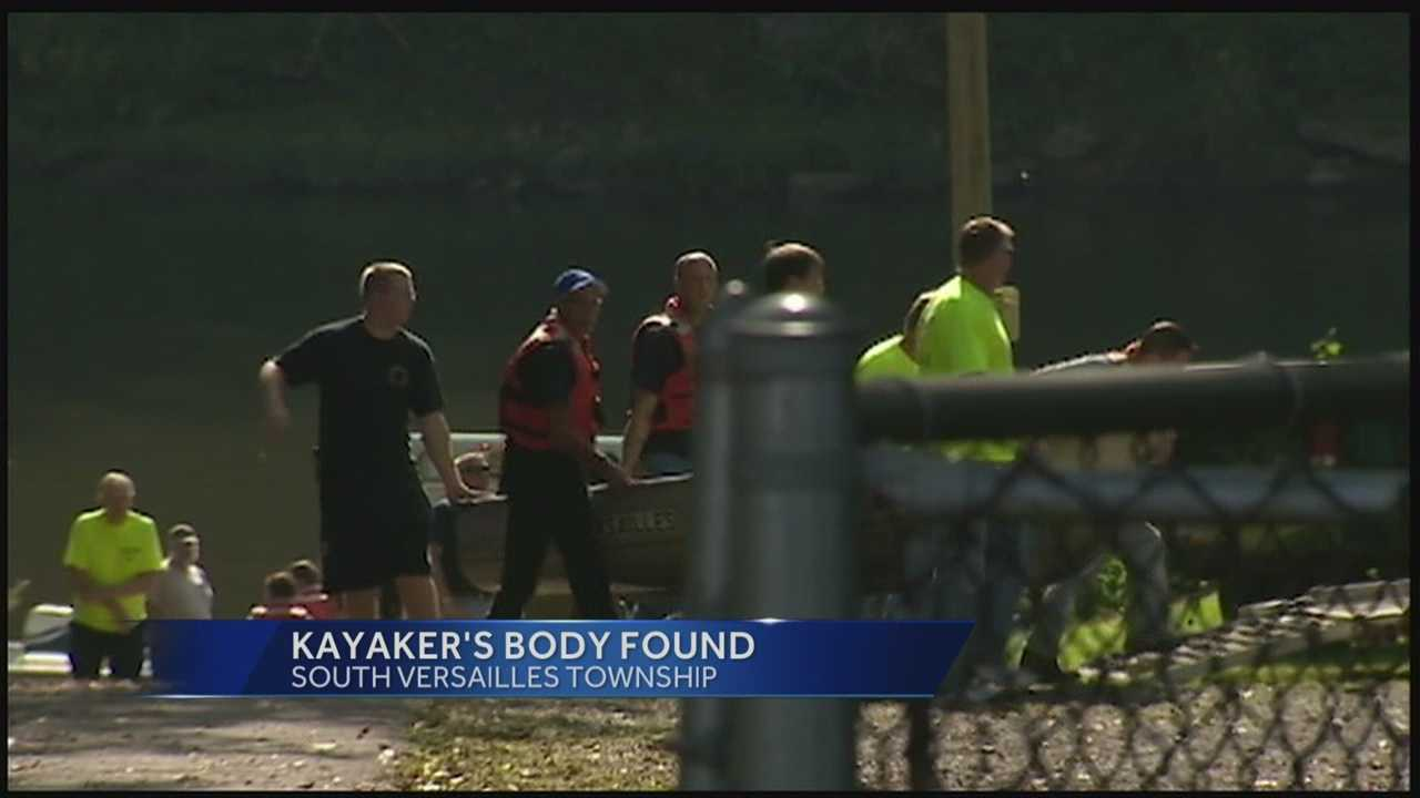 Missing kayaker found dead
