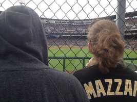 A Vin Mazzaro fan.