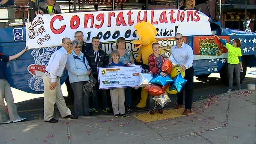 Just Ducky Tours 1 millionth rider