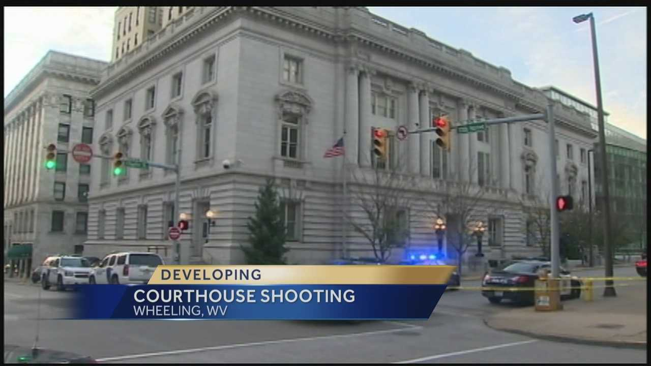 img-Ex-cop killed after firing at courthouse in W Va