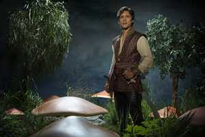 "ABC's ""Once Upon a Time in Wonderland"" stars Peter Gadiot as Cyrus. (ABC/Bob D'Amico)"