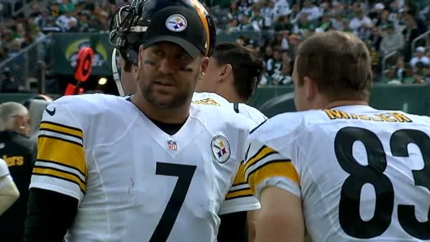 Ben Roethlisberger and Heath Miller