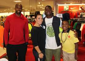 Players from the Pittsburgh Steelers continued their support for WTAE Project Bundle-Up again this year by taking local children clothing shopping at Macy's Ross Park in Ross Township, PA.  The annual event is put on by the Salvation Army, Macy's, Steelers, WTAE-TV, and the generous donations of viewers from across Western PA.