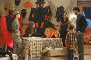 "When Vanessa tries to relive her PTA glory days by taking over the Halloween haunted house fundraiser for Boyd's school, her ideas prove too scary for him. Now, Mike must find a way to reassure Boyd and help him face his fears, on ""Last Man Standing"". (ABC/Richard Cartwright)"
