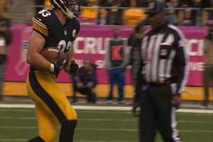 Heath Miller with the first Touchdown of the game