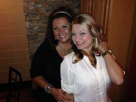 """Dance Mom's""Abby Lee & WTAE's Ashlie Hardway"