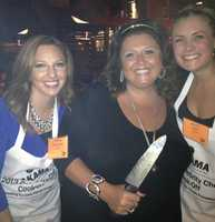 "WTAE's Ashley Dougherty and Janelle Hall with ""Dance Mom's"" Abby Lee"