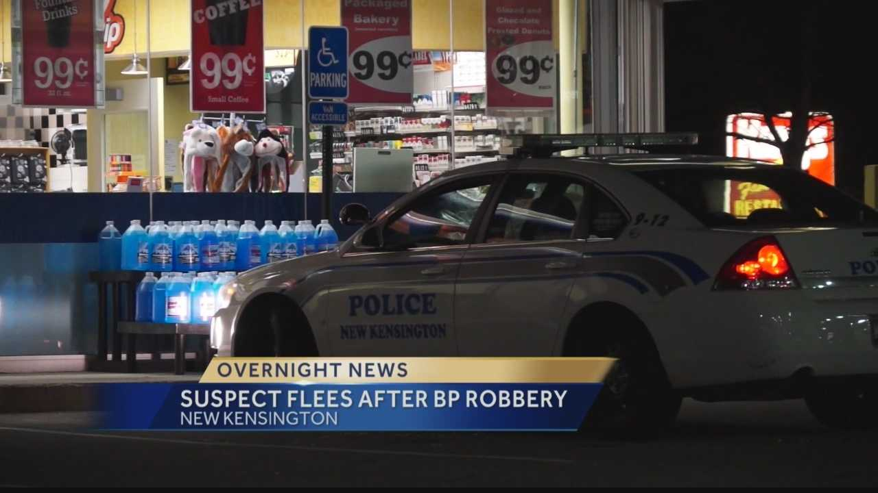Suspect Flees After BP Robbery
