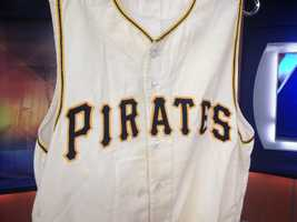 Review some of the items that are available for auction of Pirate's great Bill Mazeroski
