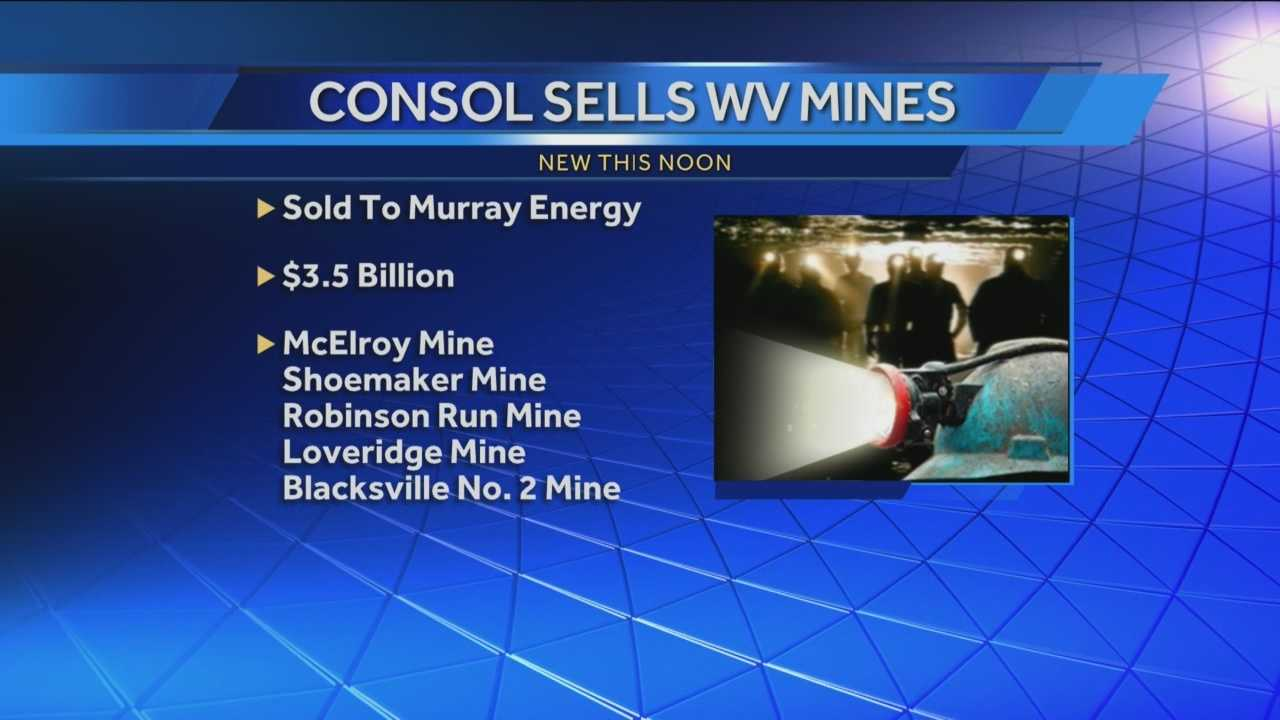 img-CONSOL Energy selling 5 coal mines