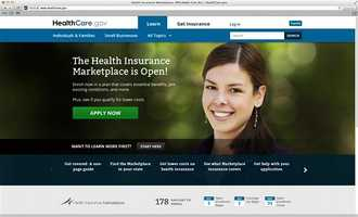 Where did she go? The unnamed woman who became the face of President Barack Obama's new federal health care website mysteriously disappeared from the homepage Monday.