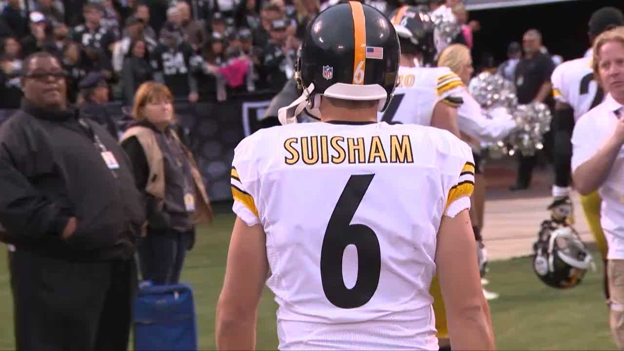 Shaun Suisham leaving field