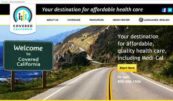 Fourteen states, including California, elected to set up their own health care insurance website exchanges. Those websites have been mostly error-free.California's affordable health care website is called Covered California, its URL is www.coveredca.com