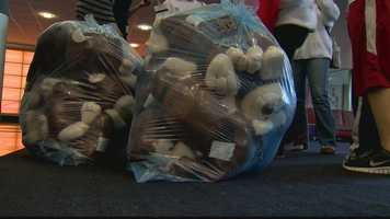 With the additional stuffed animals, children at Children's Institute, the Ronald McDonald House and Forbes pediatric unit among several others will also receive the toys.