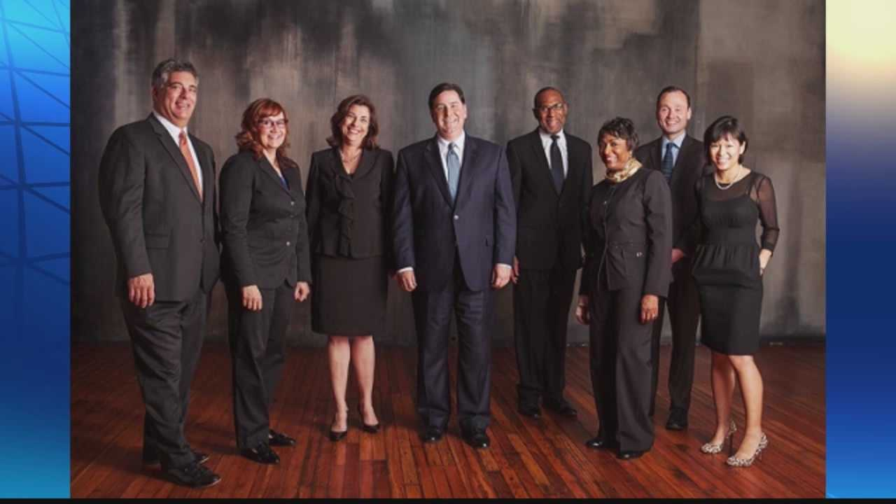 Bill Peduto with executive team