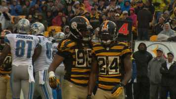 Linebacker Jarvis Jones and cornerback Ike Taylor