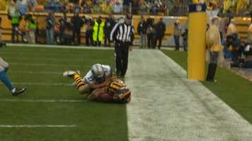 Heath Miller can't quite hold on