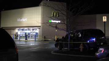 A woman was shot to death Sunday night while leaving her job at a Walmart store in Union Township, Lawrence County.