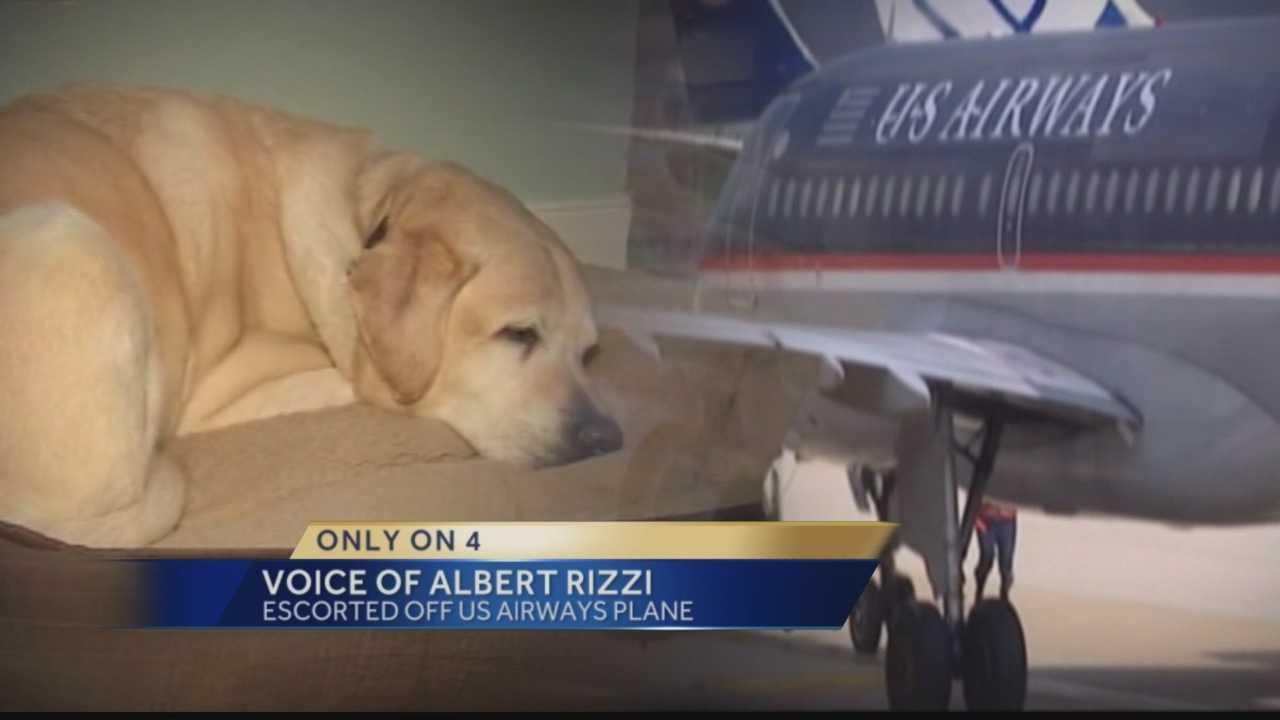 Blind man kicked off flight becasue of service dog