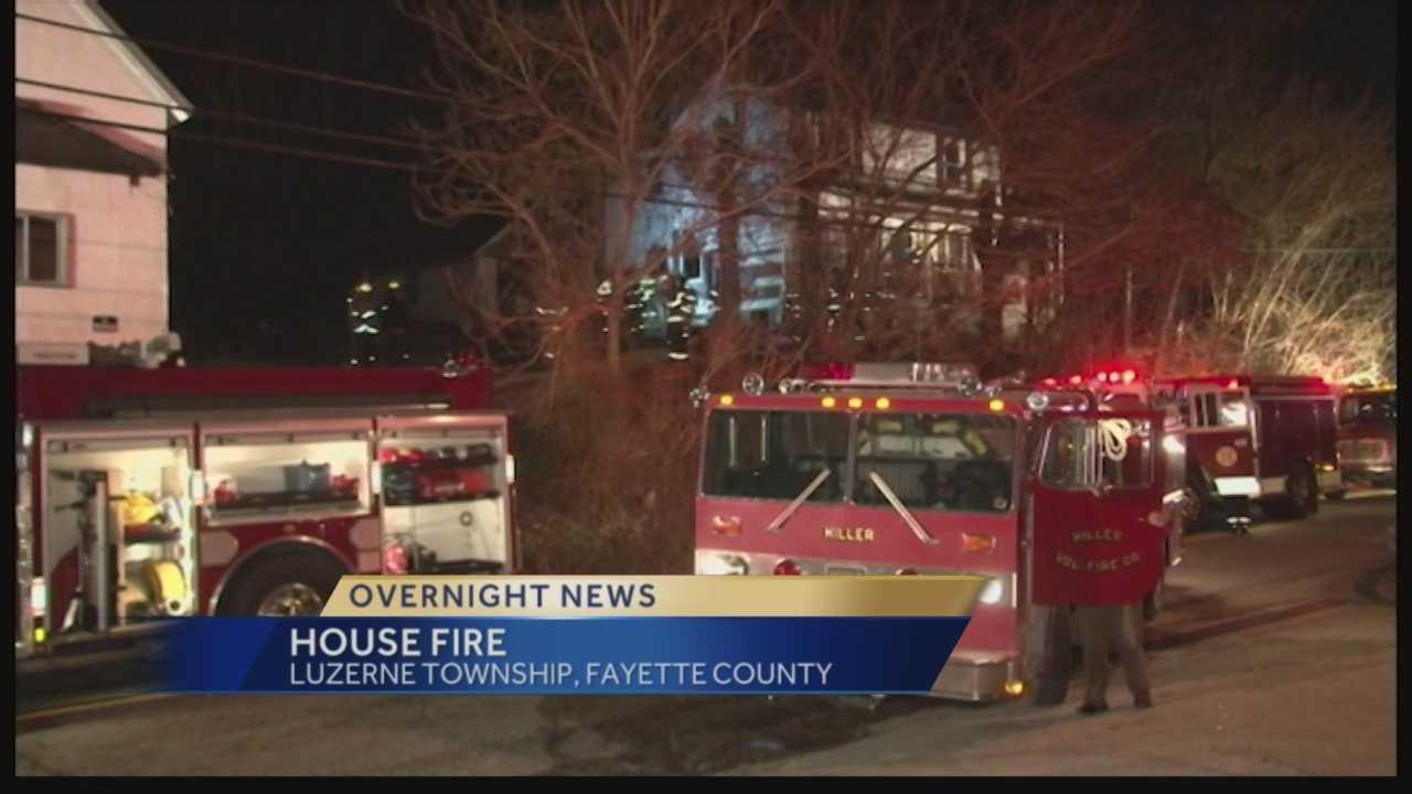 Luzerne Township fire
