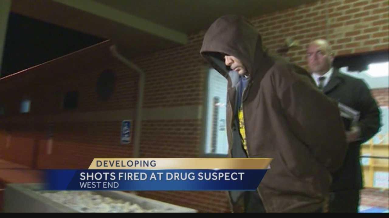 West End drug suspect