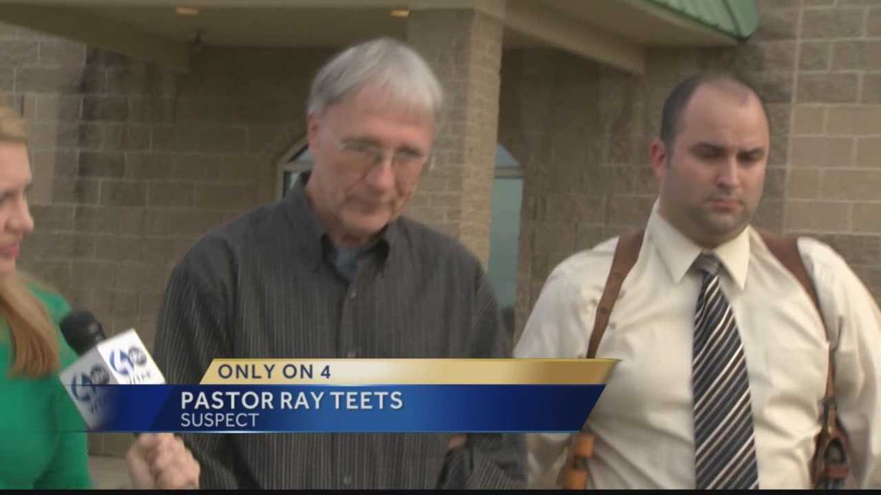 Local pastor arrested on charges of inappropriately touching girl