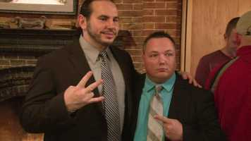 Matt Hardy, who rose to fame in the WWE as part of a tag team with his brother, Jeff, also stars in the film.