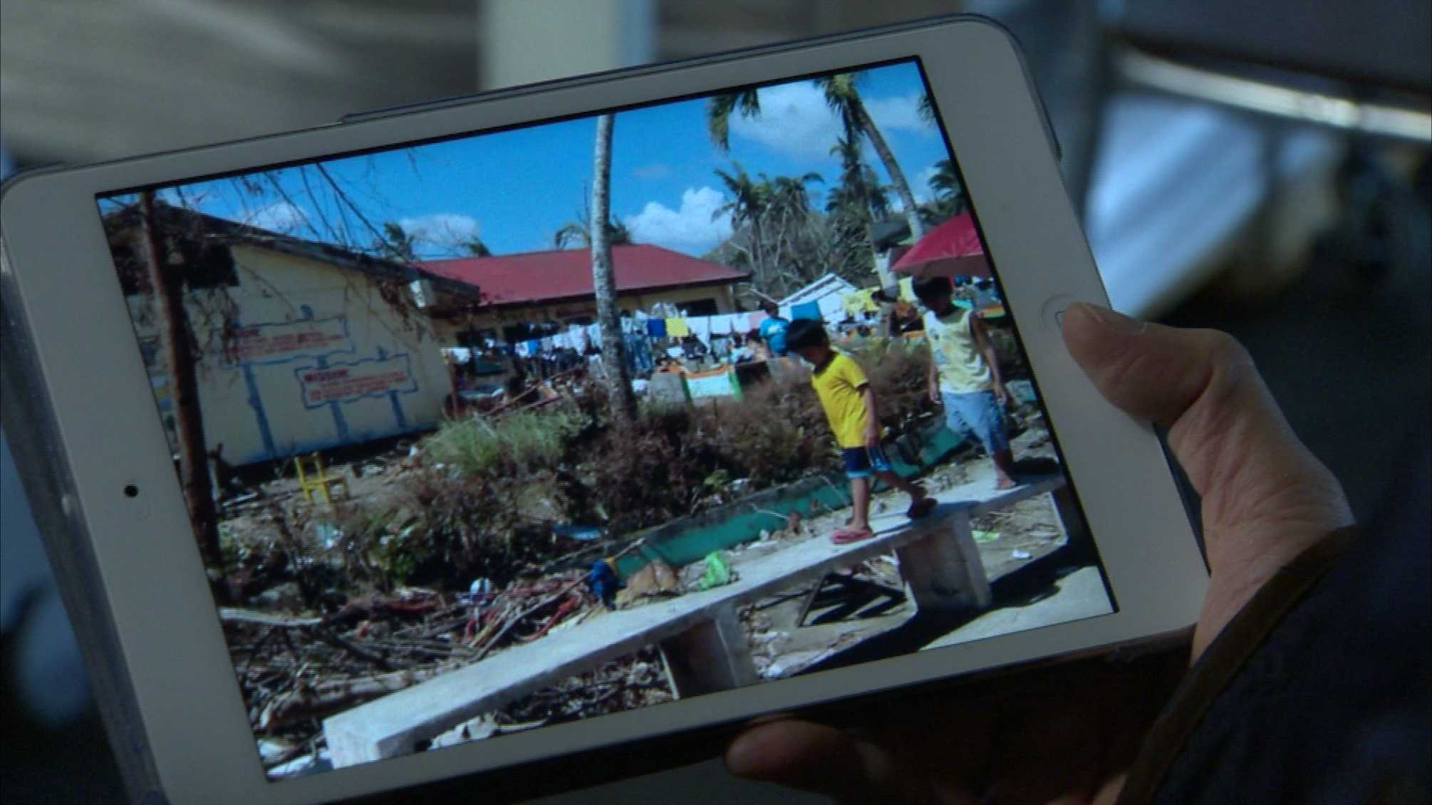 Typhoon Haiyan damage