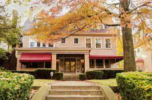 This elegant $809,000 colonial in Squirrel Hill features seven bedrooms, five bathrooms and much more.
