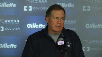 $500,000 - New England Patriots head coach Bill Belichick on Sept. 13, 2007, for spying on New York Jets defensive coaches' signals.
